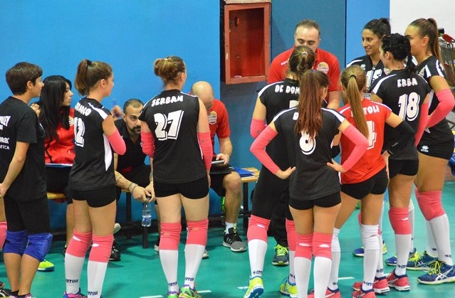 C femminile, playoff: sprecato il primo match point