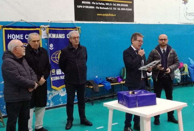 "Team Volley Messina ""cardioprotetta"" con Kiwanis Club"